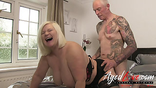 AgedLovE British Mature Lacy Starr Guestimated Fuck