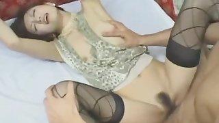 Astounding porn movie MILF ever seen